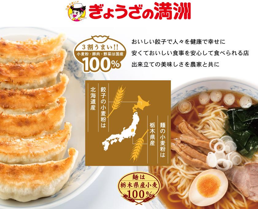 ぎょうざの満洲 春日部東口店